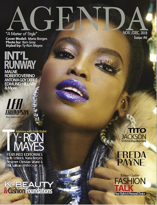 Agenda Issue 6 - Maria Borges Cover