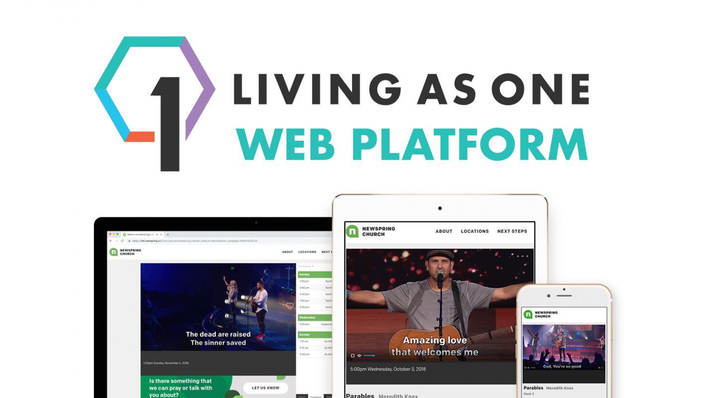 Living As One Web Platform