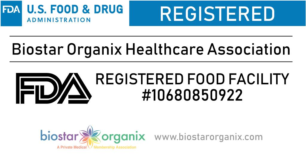 Biostar Organix Healthcare Association Registration Number