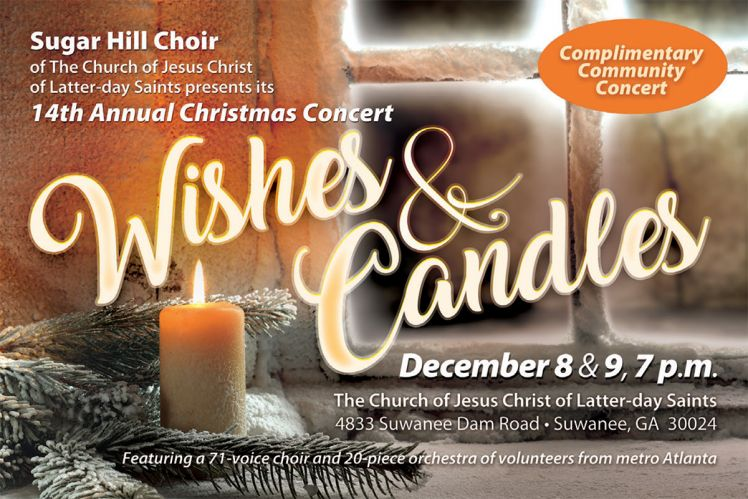 Sugar Hill Choir Invitation