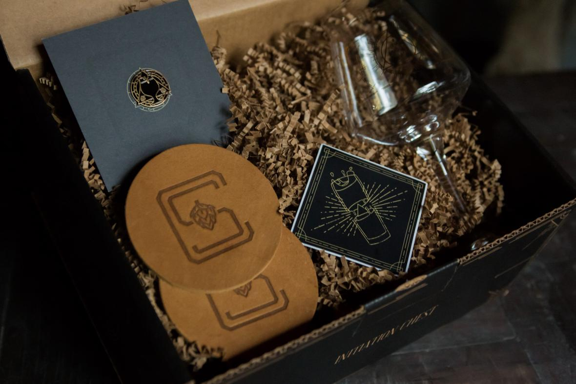 The Craft Society, a new homebrew subscription box service from Craft a Brew