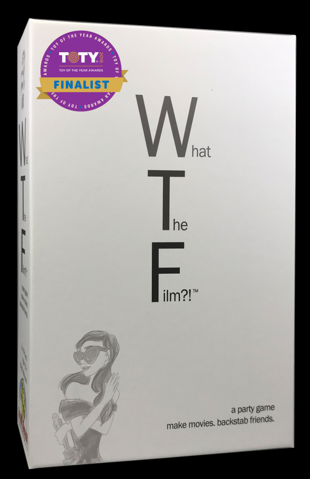What The Film?! a party game. Toy of the Year Finalist