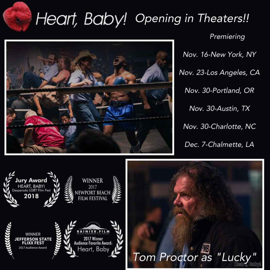 "Tom Proctor as Lucky in ""Heart, Baby!"""