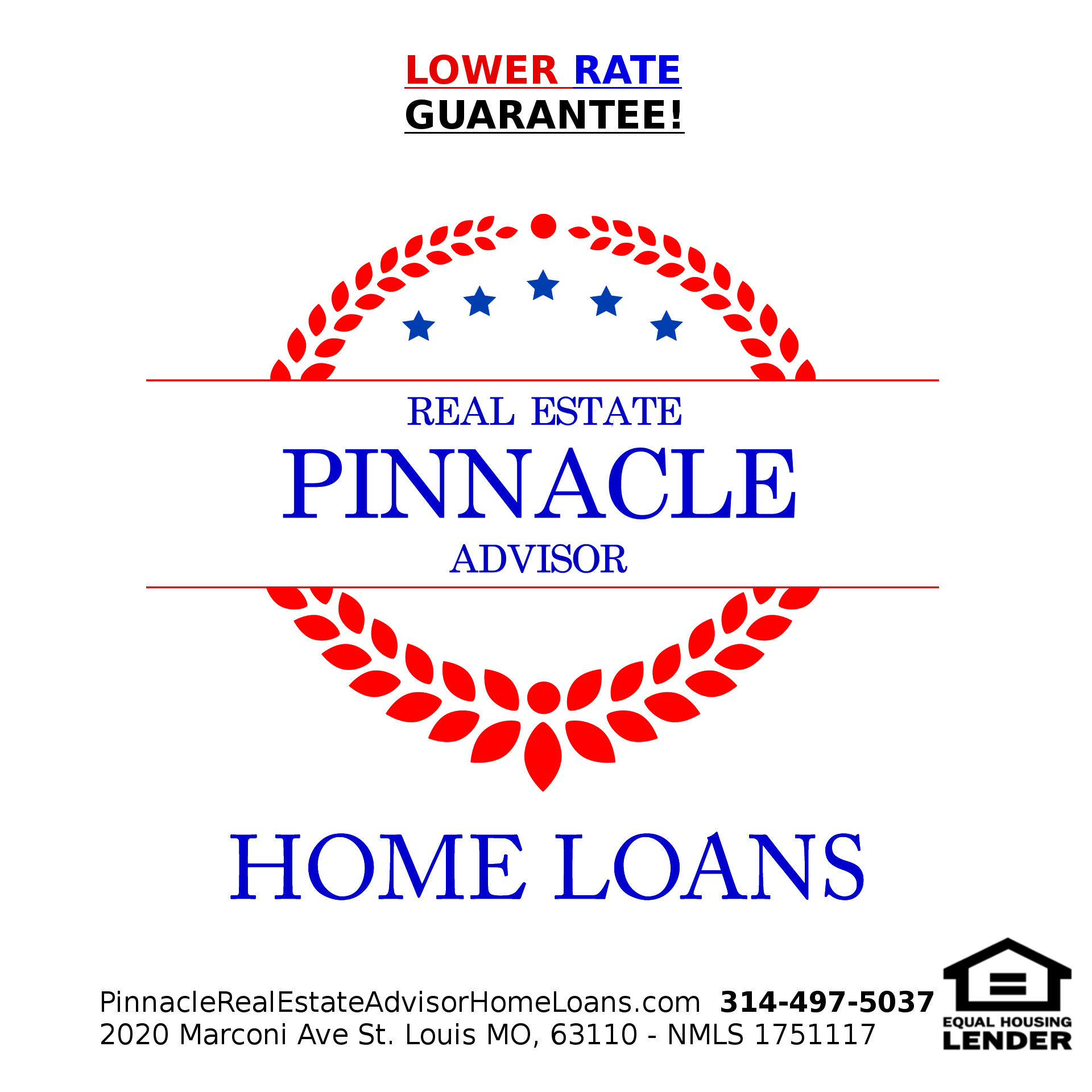 Pinnacle Real Estate Advisor Home Loans Lower Rate Guarantee