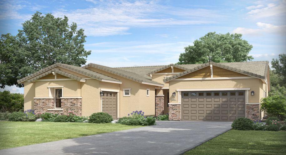 New homes in Phoenix now pre-selling showcasing modern floorplans