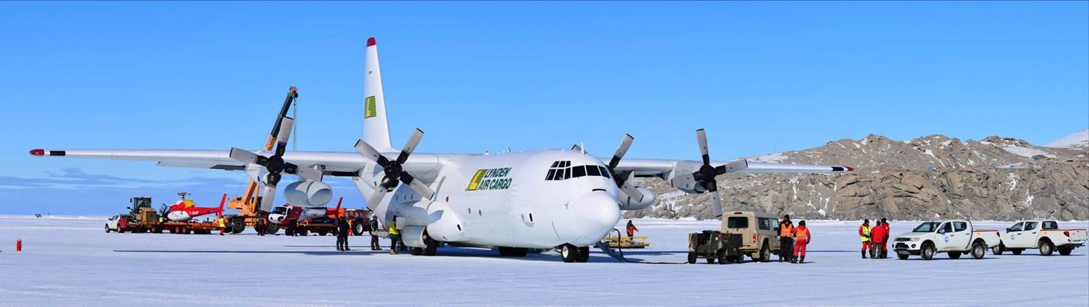 Lynden Air Antarctica Oct 2018