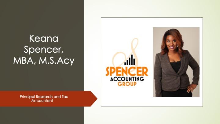 Keana Spencer Accounting