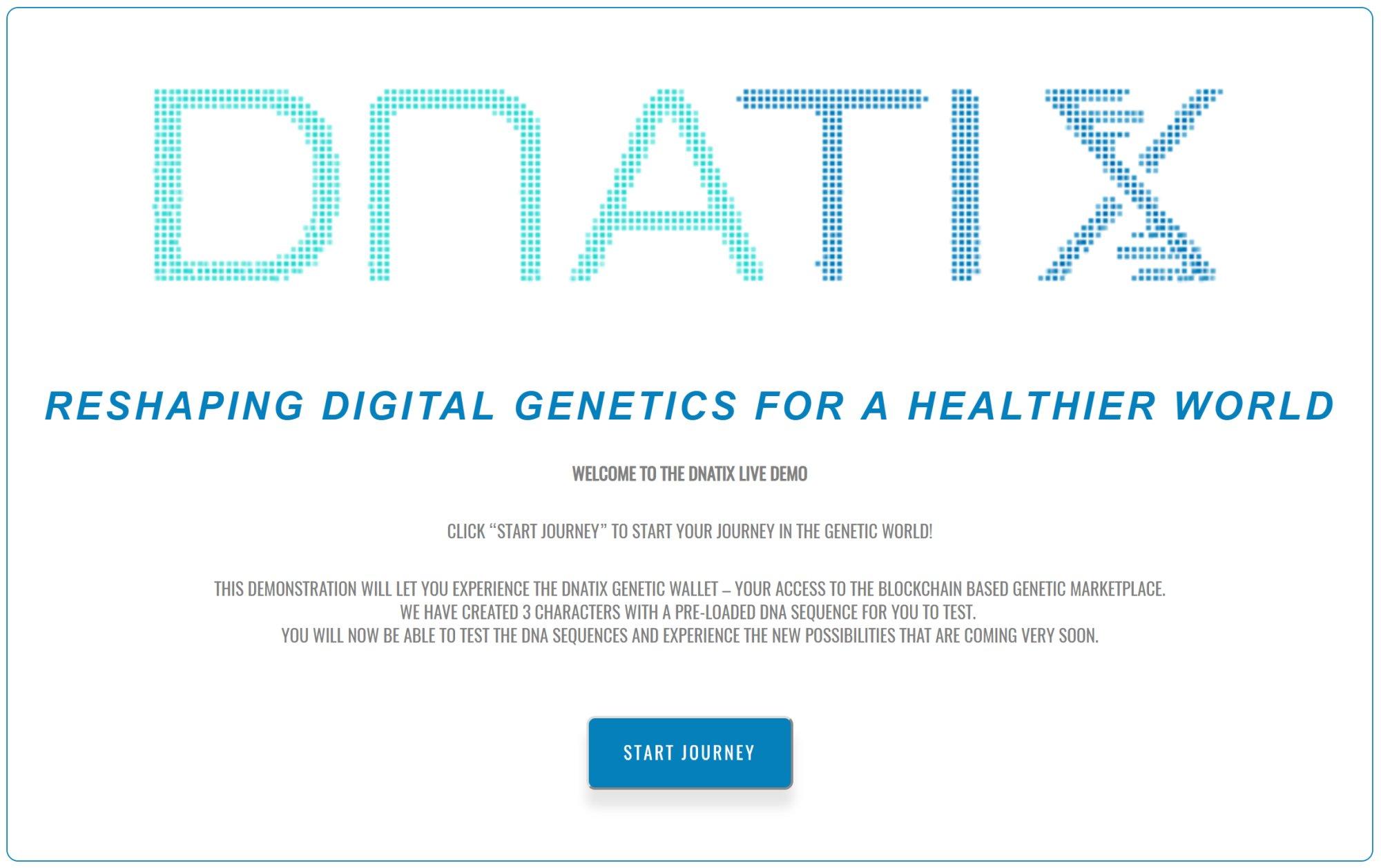DNAtix Live Demo