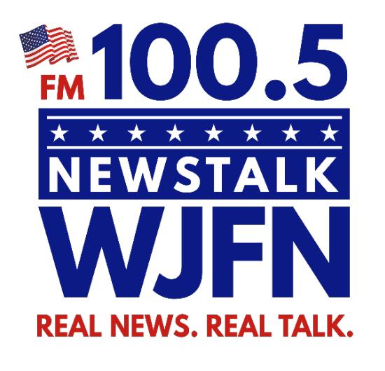 WJFN 100.5 FM Richmond-Goochland, VA