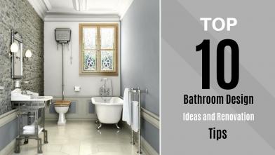 Top 10 Bathroom Design Ideas And Renovation Tips Econstructionmart Prlog