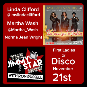 First Ladies of Disco on The Jimmy Star Show With Ron Russell
