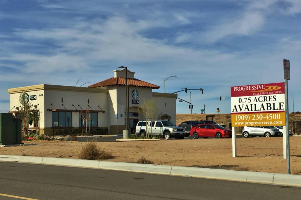 Progressive Real Estate Partners Sells Commercial Land in Hesperia, CA