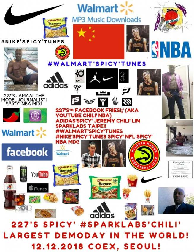 227's Facebook Fries (aka YouTube Chili' NBA) Jeremy Chili' Lin Spicy' SparkLabs