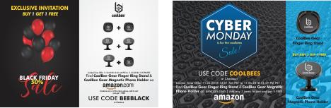 PR COUPON Black Friday Cyber Monday