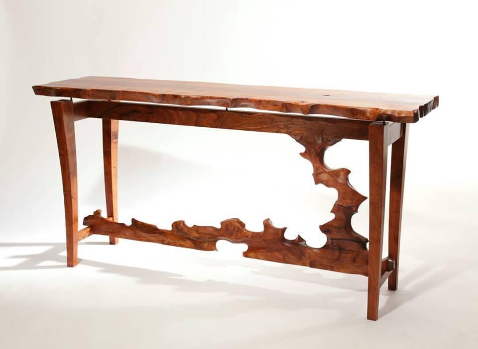 "Lou Quallenberrg's Mesquite ""Larita"" Entry Table"