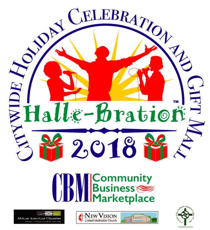 hallebration 2018 logo