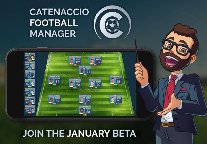 Join Catenaccio Football Manager BETA