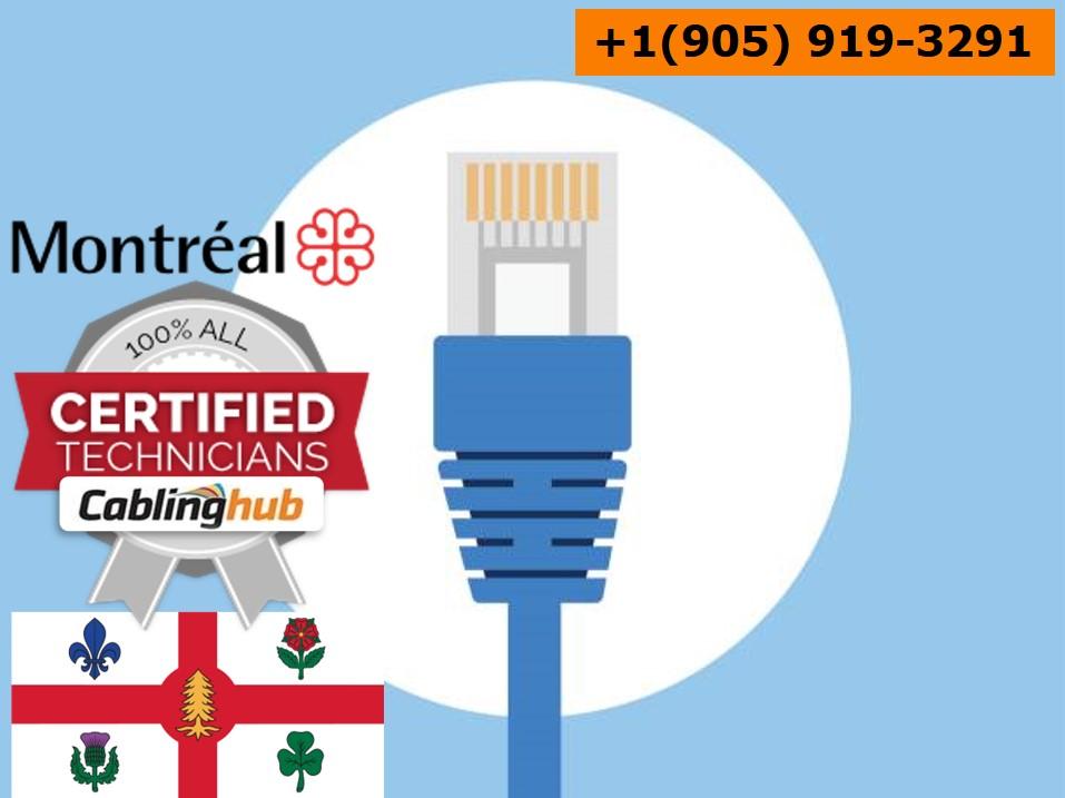 Montréal, QC Network Cabling Contractor