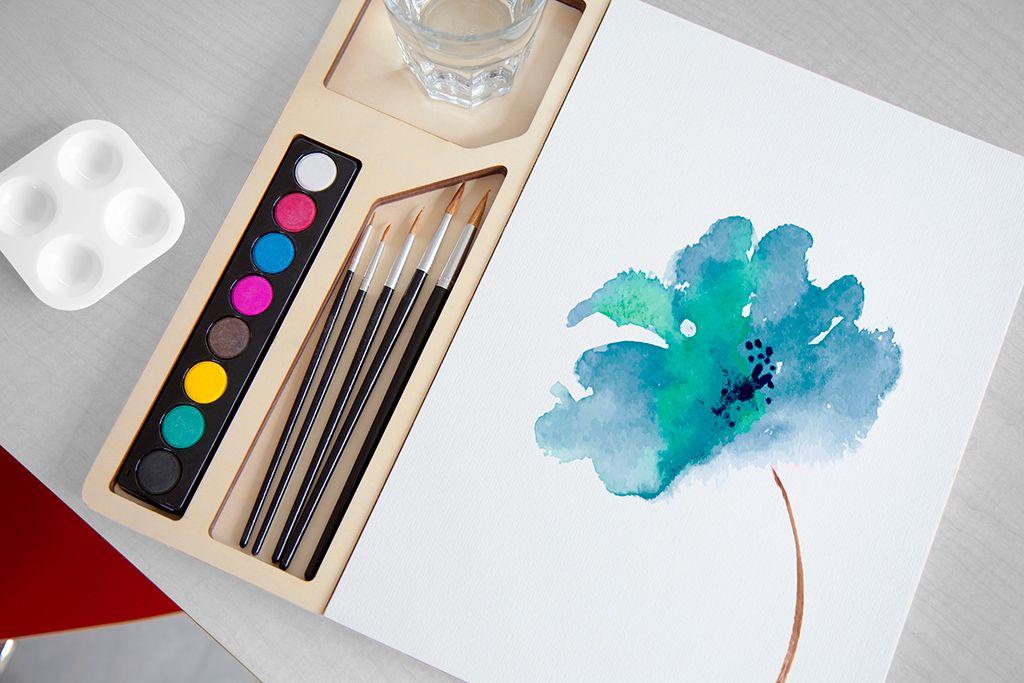 Three by Three Seattle jOTBLOCK™ Watercolor Set One of Oprah's Favorite Things