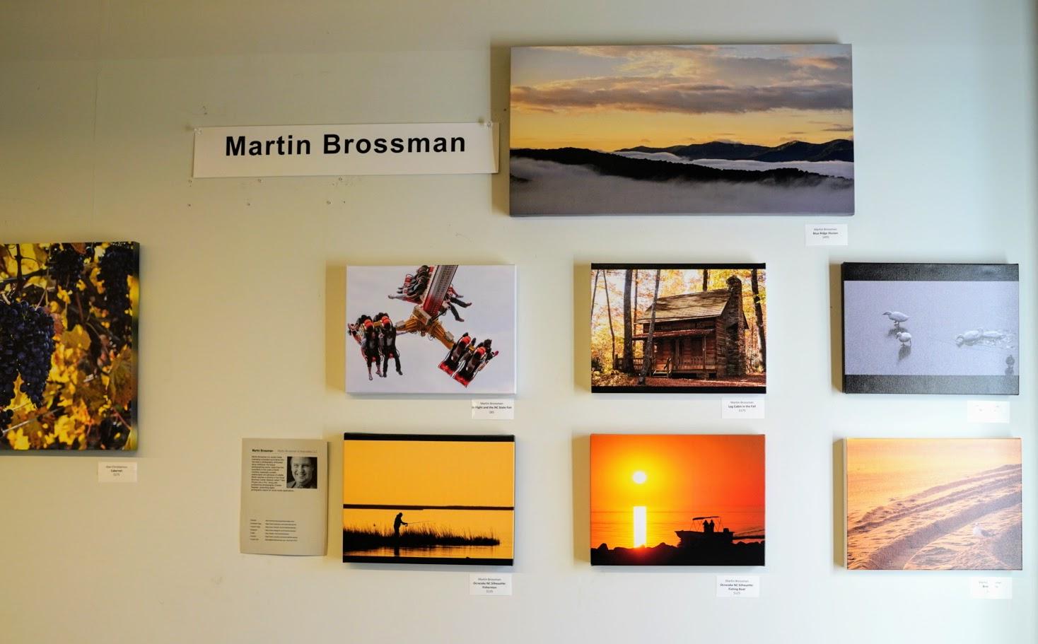 Martin Brossman's Photos at the Lobby Art Connect event