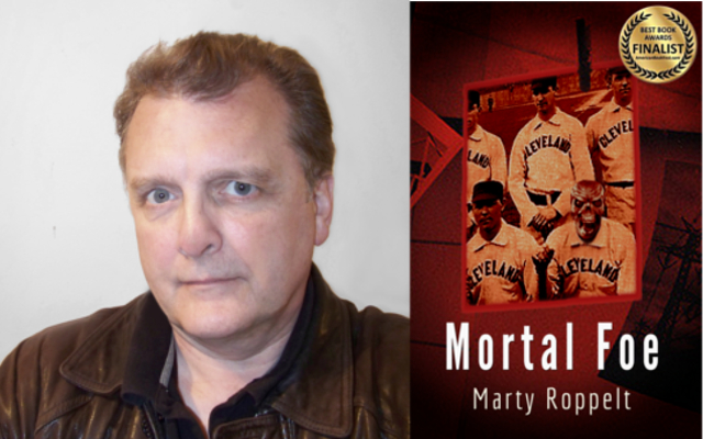 Author Marty Roppelt and his award-winning debut novel Mortal Foe