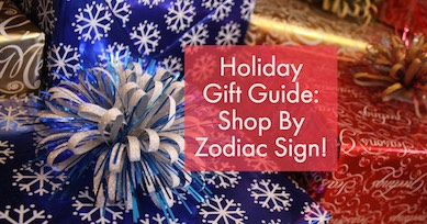 Shop for Christmas presents by zodiac sign with new Astrology Gift Guide!