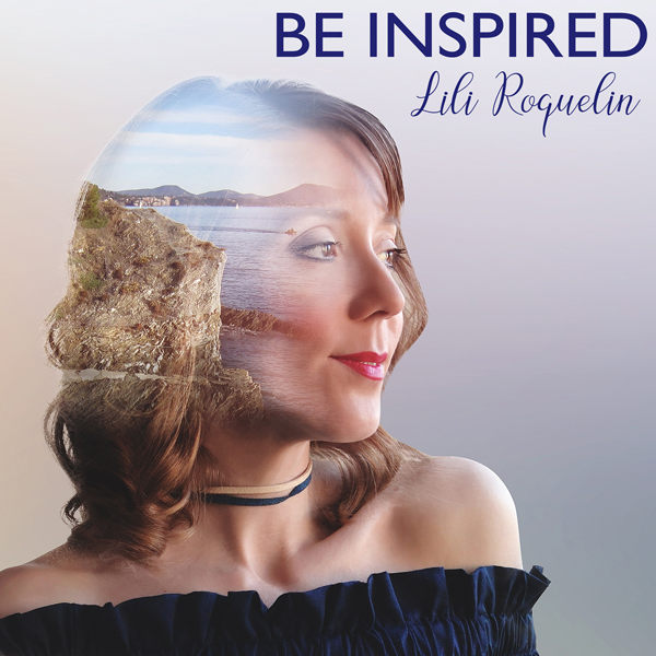 """LiLi Roquelin """"Be Inspired"""" Album Cover"""