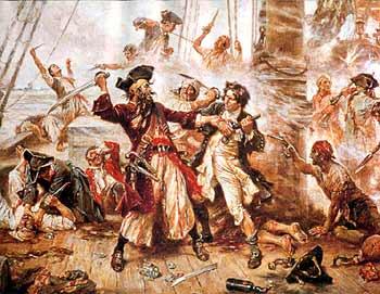 Blackbeard's Last Battle