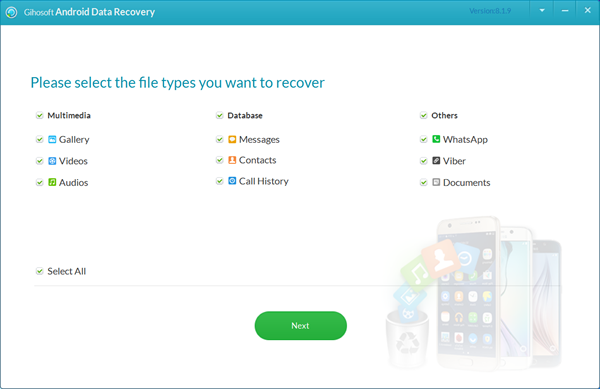 Gihosoft Releases Free Android Data Recovery 8 1 9 with Superb