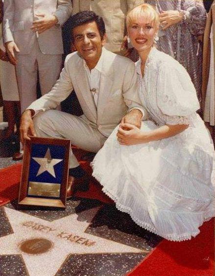 Casey & Jeannie Kasem Hollywood Star Walk of Fame