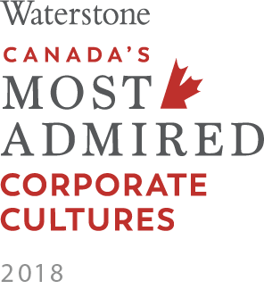 Canada's Most Admired Corporate Cultures 2018