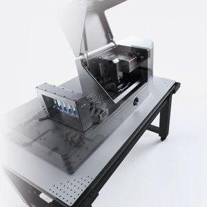 The LUMICKS C-Trap optical tweezer with microscopy.