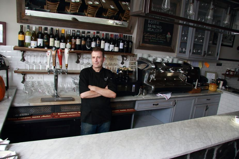 VIA VAI Owner and Chef Antonio Morichini