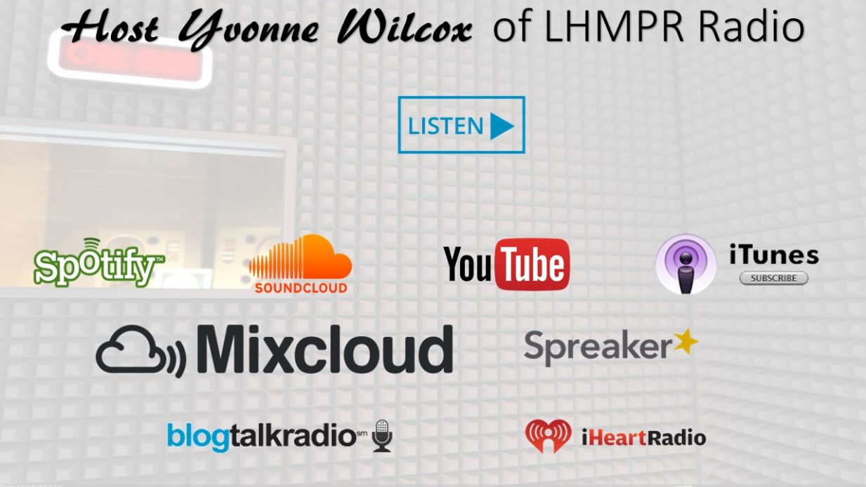 Host Yvonne Wilcox of LHMPR Radio