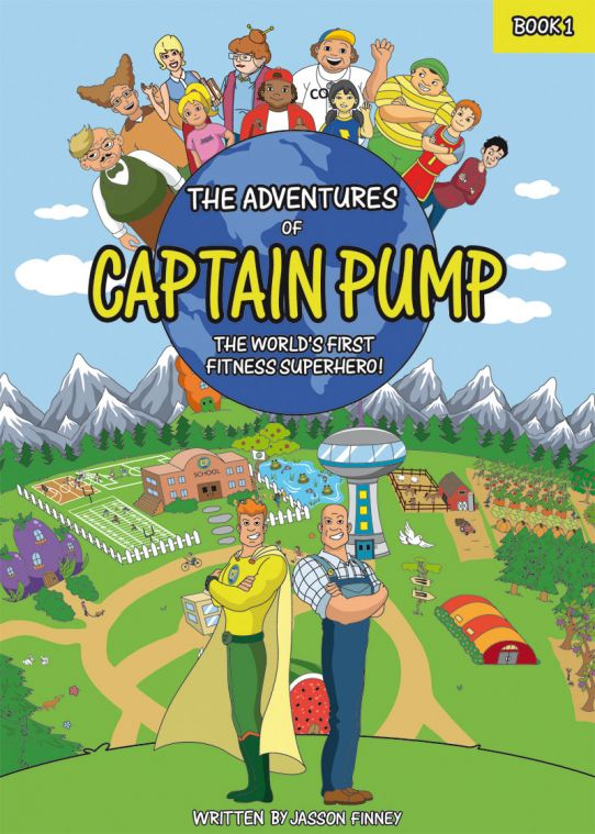 """The Adventures of Captain Pump"" by Jasson Finney"
