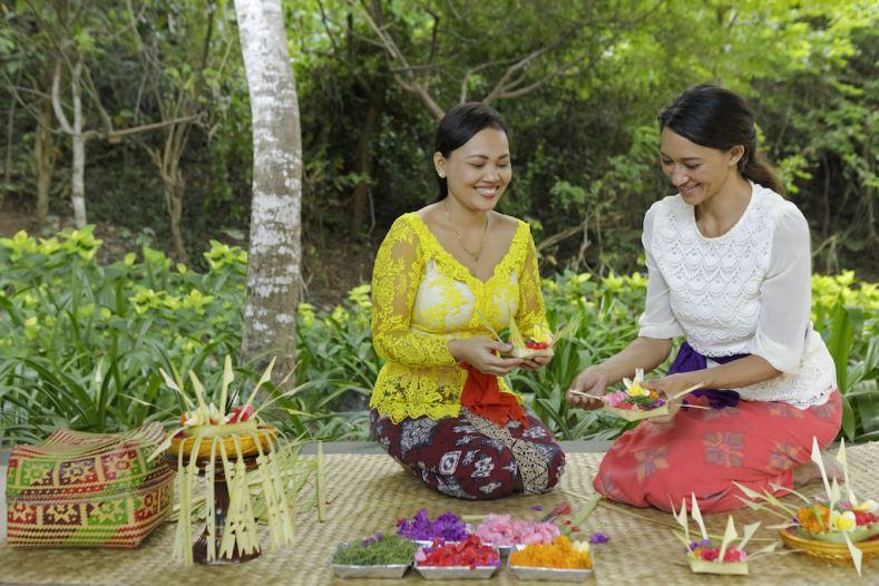 Experience Balinese cultural activities at The Ritz-Carlton, Bali