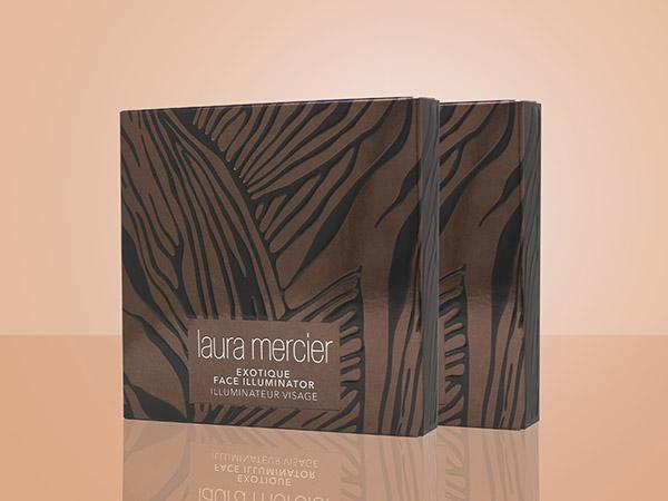 Laura Mercier Cosmetics' Exotique Face Illuminator packaging won a PPC Award
