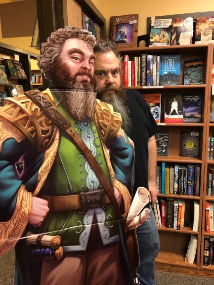 Patrick Rothfuss, NYT best-selling fantasy author & Worldbuilders founder
