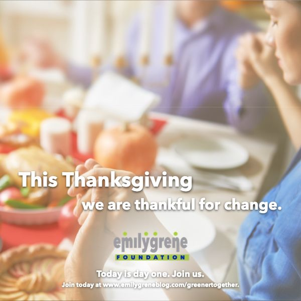 Giving Thanks For Emilygrene Foundation