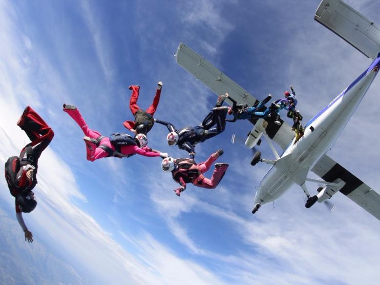 All-Women Skydive Puerto Vallarta 2