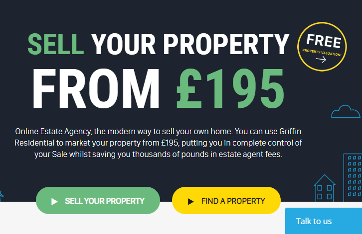 best online estate agent 2019 - griffin