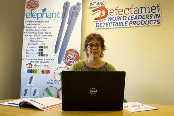 Detectamet Group Marketing Manager Hellen Tordoff