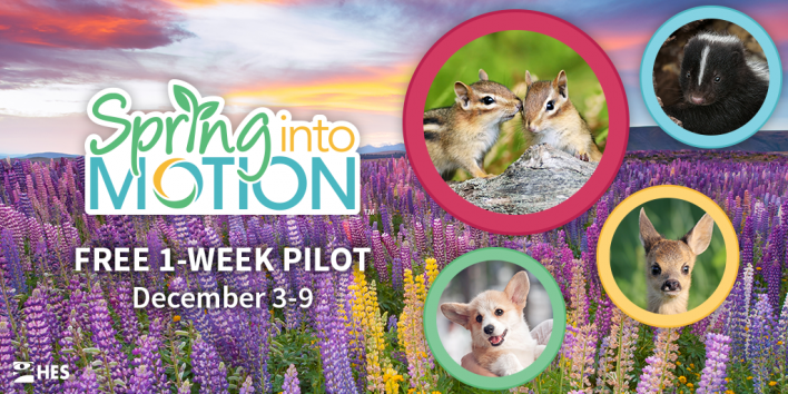 Spring Into Motion 1-Week Pilot