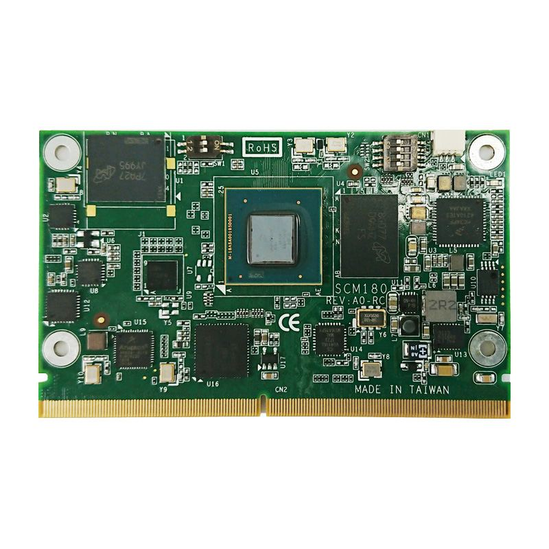 Axiomtek's latest versatile SMARC v2.0 system on module, the SCM180.