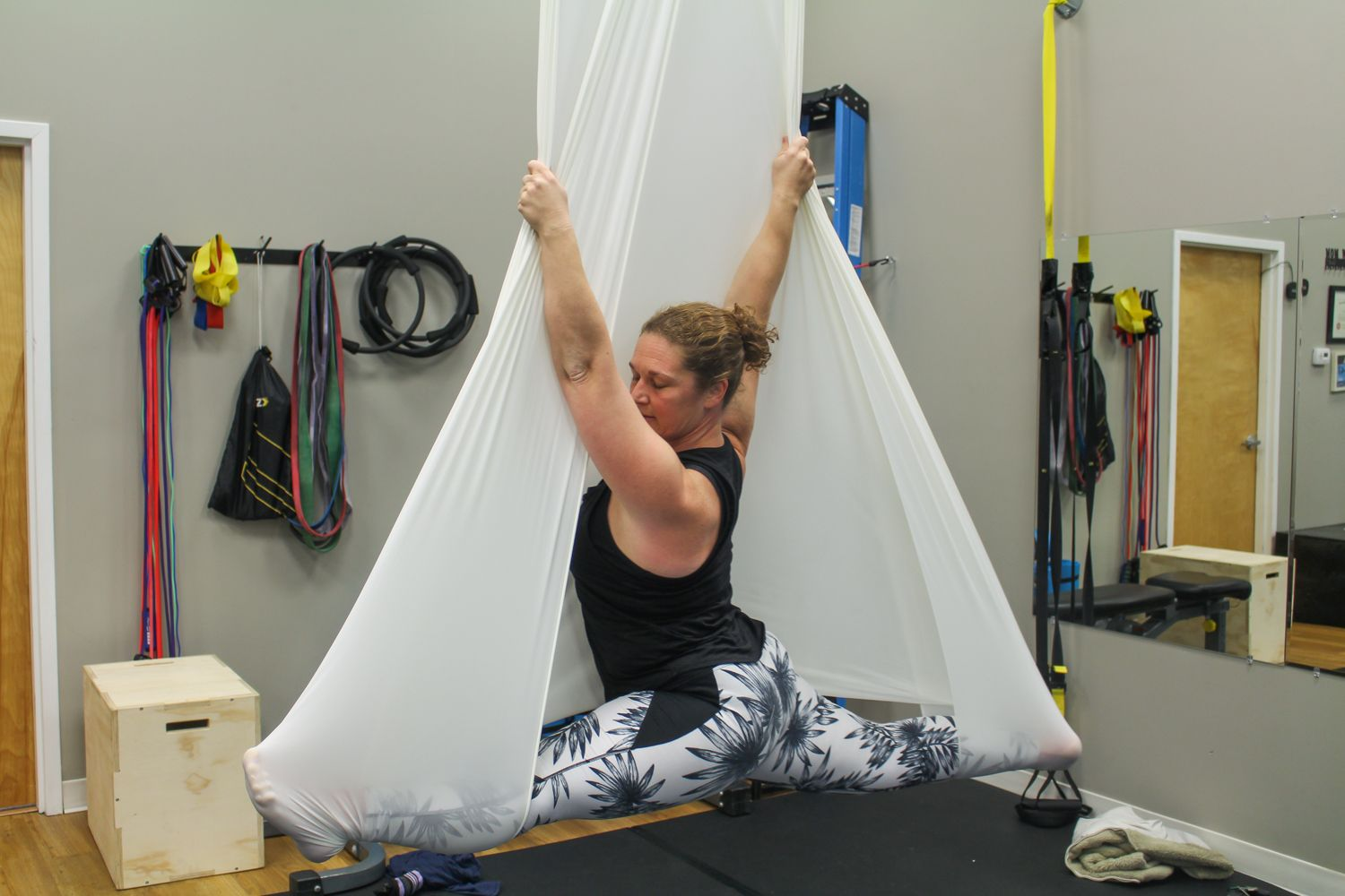 Practicing Aerial Yoga and the Circus Arts at Yoga Lily Studio