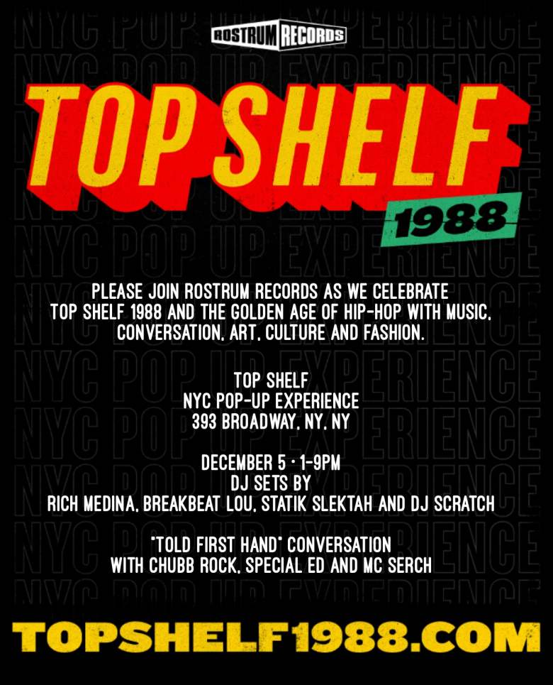 TOPSHELF1988 Party Hosted by Doctor Dre