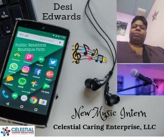 New Intern ~ Desi Edwards