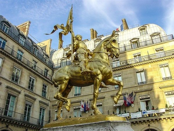 French Women in History - Statue of Joan of Arc
