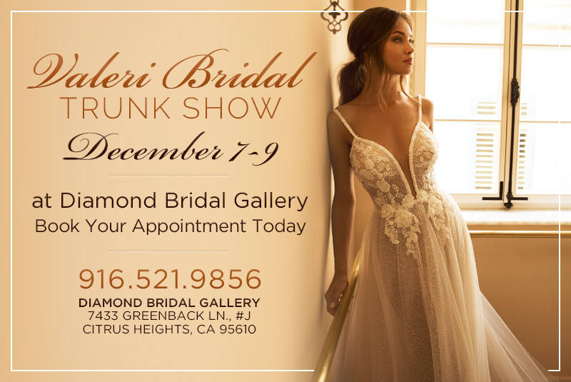 Valeri-Bridal -Trunk-Show at Diamond Bridal Gallery
