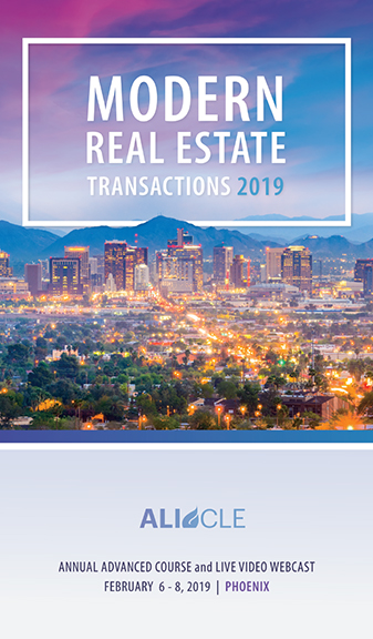 Modern Real Estate Transactions 2019